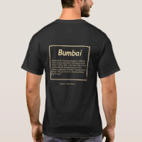 Bumbai Hawaiian pidgin english T shirt