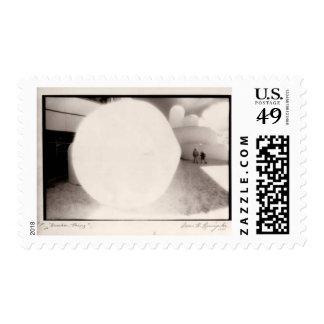 """""""Bumber Thing""""  postage stamp"""