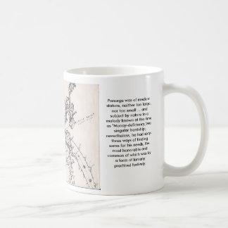 """Bumbershootmonster, Bumbershoot Monster """"Clara""""... Classic White Coffee Mug"""