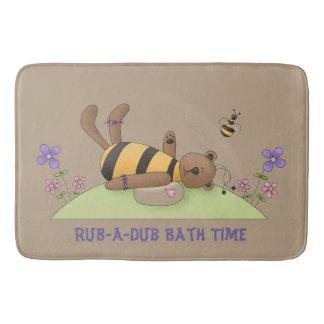 Bumble Bear Bath Time Bathmat