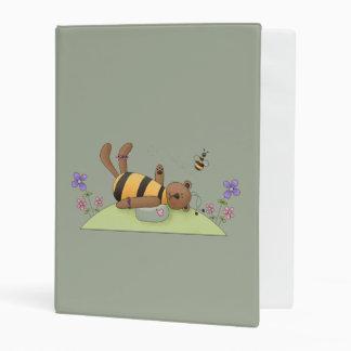 Bumble Bear Mini Binder