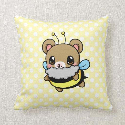 Bumble Bear Pillow