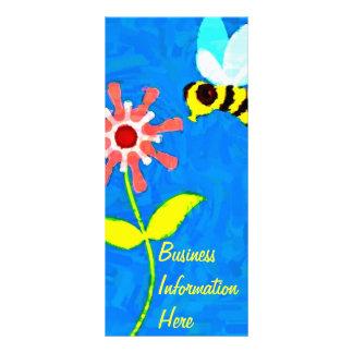 Bumble Bee 2012 Calendar Bookmark Rack Card