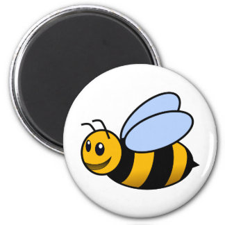 bumble bee 2 inch round magnet