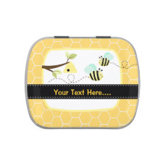 Bumble Bee Add Your Own Text Mint Favor Tin Candy Tins at Zazzle