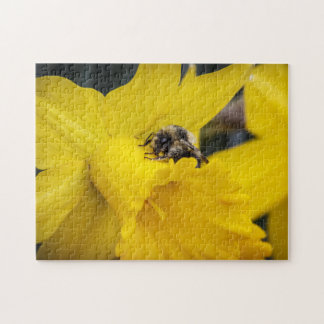 Bumble Bee and Daffodil Puzzle