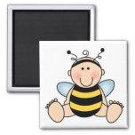 Bumble Bee Baby Fridge Magnets