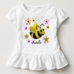 Bumble Bee Baby Girl Shower T-shirt