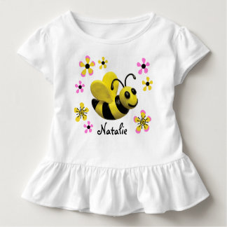 Bumble Bee Baby Girl Shower Toddler T-shirt