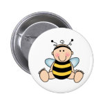 Bumble Bee Baby Pinback Button