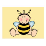 Bumble Bee Baby Post Card