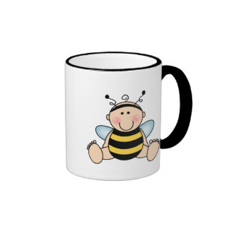 Bumble Bee Baby Ringer Mug