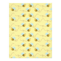 Bumble Bee Baby Scrapbook Paper