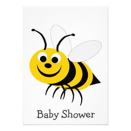 bumble bee baby shower invitation 5 x 7 invitation card zazzle