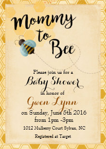 Bumble bee baby shower invitations announcements zazzle bumble bee baby shower invitation filmwisefo Choice Image