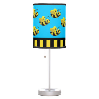 Bumble Bee Baby Shower Desk Lamp