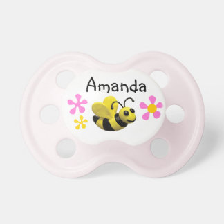 Bumble Bee Baby Shower Baby Pacifiers