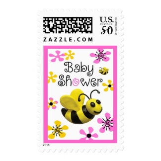 Bumble Bee baby Shower Postage