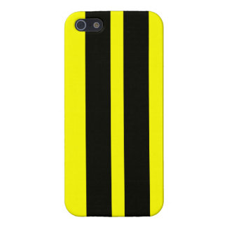 Bumble Bee Black Racing Stripes Iphone 5 Case