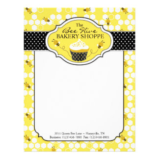 Bumble Bee Business Letterhead 2