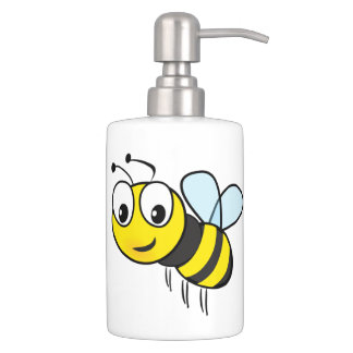 Bumble Bee Buzz Bath Set