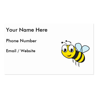 Bumble Bee, Buzz Business Card Template