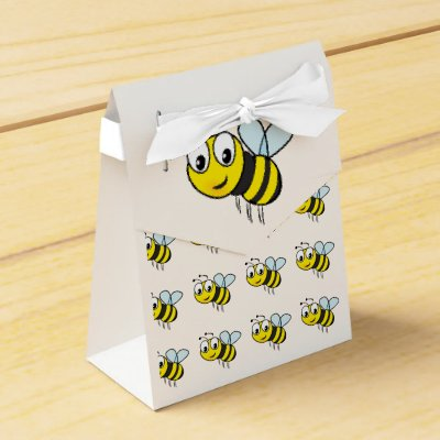 Bumble Bee Favor Box