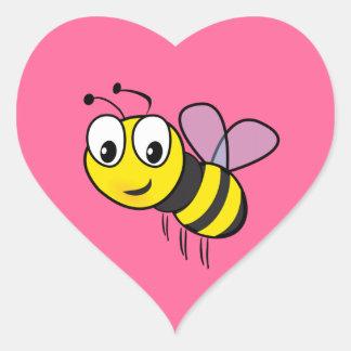 Bumble Bee, Buzz Heart Sticker