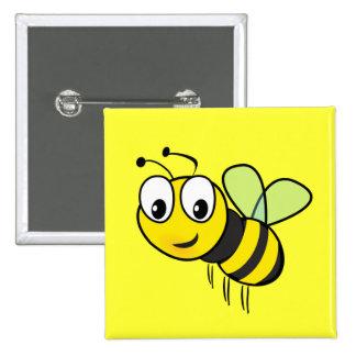 Bumble Bee, Buzz Pinback Button