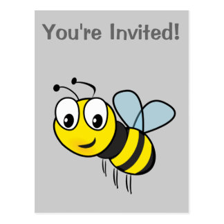 Bumble Bee, Buzz Postcard