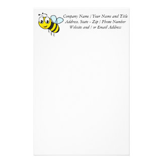 Bumble Bee, Buzz Stationery