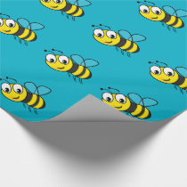 Bumble Bee, Buzz Wrapping Paper