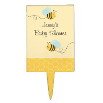 Bumble Bee Cake Topper Cupcake Topper