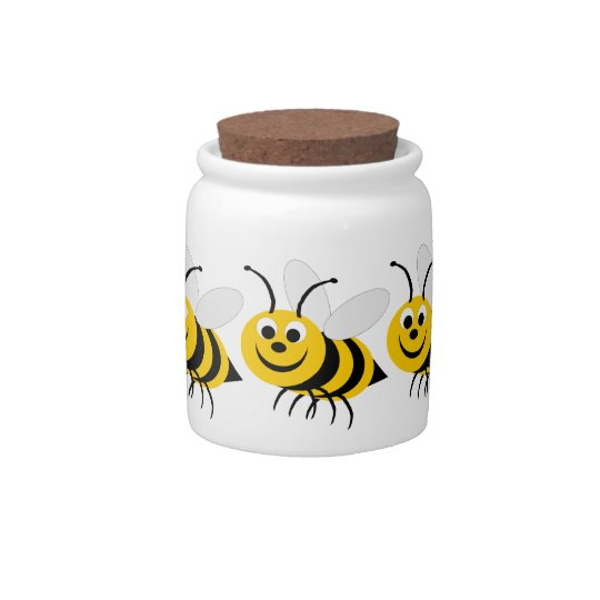 Bumble Bee Candy Jar