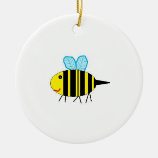 Bumble Bee Ceramic Ornament