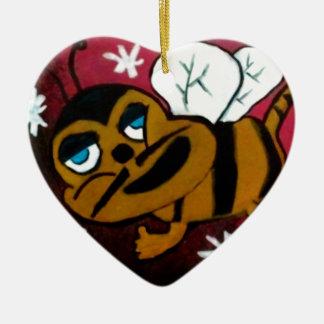Bumble Bee Ceramic Ornament