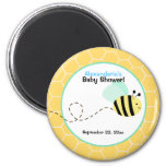 Bumble Bee Custom Favor Magnet