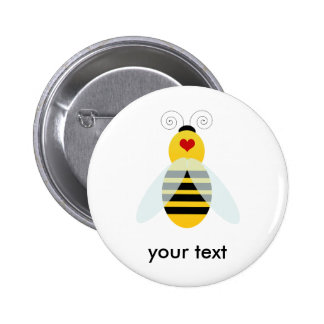 bumble bee cuties 2 inch round button