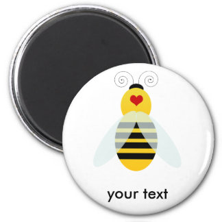 bumble bee cuties 2 inch round magnet