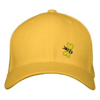 Bumble Bee Embroidered Hats