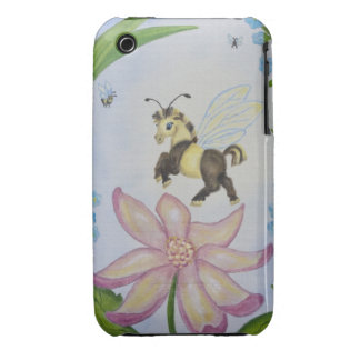 Bumble Bee Fantasy Horse iPhone 3G/3GS Case