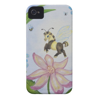 Bumble Bee Fantasy Horse iPhone 4/4S Case
