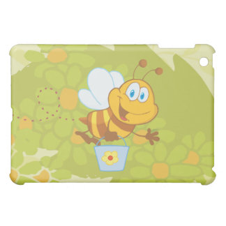 Bumble Bee Flying and Holding a Gardening Bucket Cover For The iPad Mini