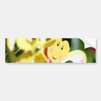 Bumble Bee Fun Bumper Sticker