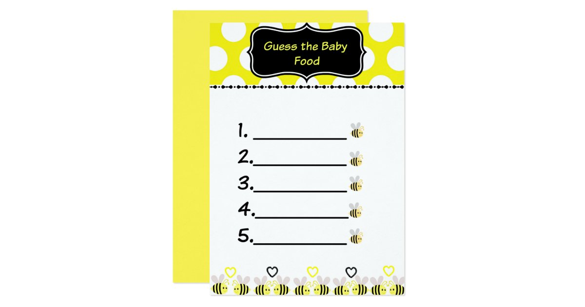 Bumble Bee Baby Shower Invitations & Announcements | Zazzle