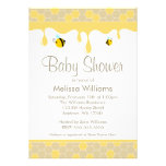 Bumble Bee Honey Baby Shower Invitations Announcements