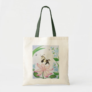 Bumble Bee Horse Tote Bag
