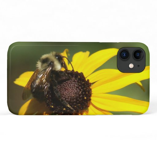Bumble Bee, iPhone Case. iPhone 11 Case