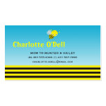 bumble bee mommy card business card templates