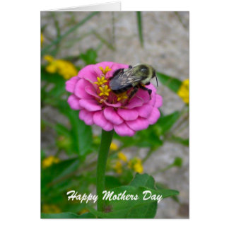 Bumble Bee Mothers Day Card